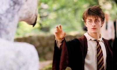 Daniel Radcliff as Harry Potter.